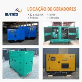 Aluguel Gerador 260 kVA
