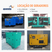 Aluguel de Gerador 50 kVA